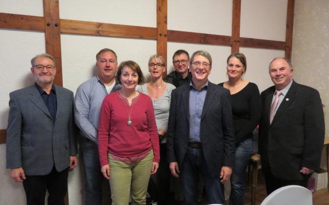 Der Vorstand des TSV Adendorf